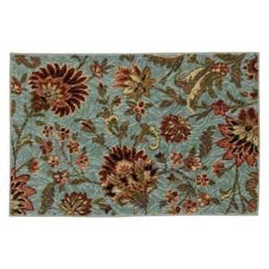 mohawk floral rug mohawk avon floral printed rug shopko