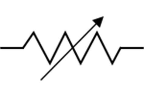 rheostat resistor symbol rheostat symbol american