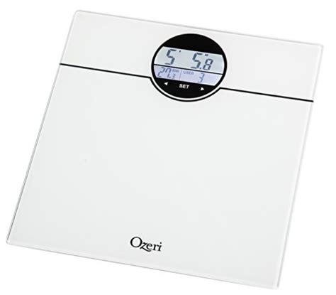 bmi bathroom scale ozeri zb21 w weightmaster 400 lbs digital bath scale with