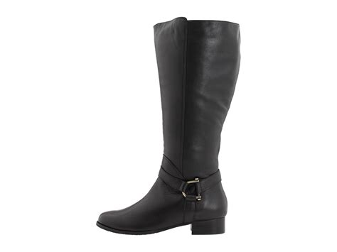 wide calf boots for ros hommerson sphere black exra wide calf boot 0134