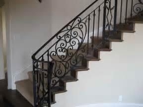 Iron Stair Railing Indoor Luxurious Iron Stair Railings Design Wood