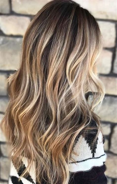 brunette with blonde highlights for women 50 and over 50 fashionable ideas for brown hair with blonde highlights