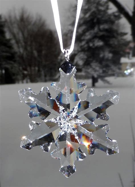swarovski swarovski 2012 christmas ornament little