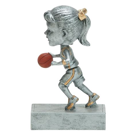 bobblehead basketball trophy youth basketball bobblehead award trophy