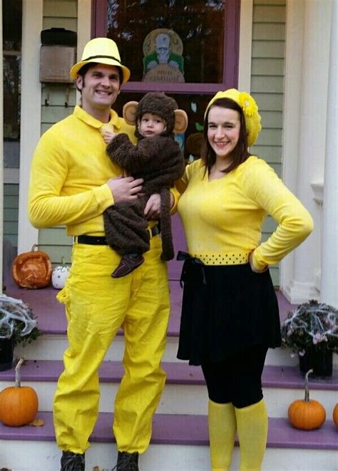 curious george   man women   yellow hat