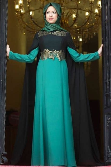 design dress hijab latest fancy party wear formal hijabs abaya collection