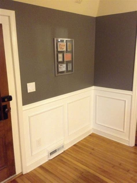 Caulking Wainscoting by Wainscoting Picture Frame Style Mounting Caulking And