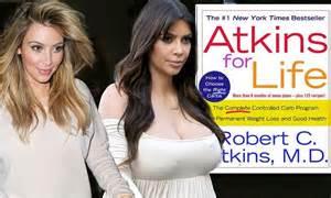 kim kardashian daily mail diet kim kardashian reveals she s been following atkins diet