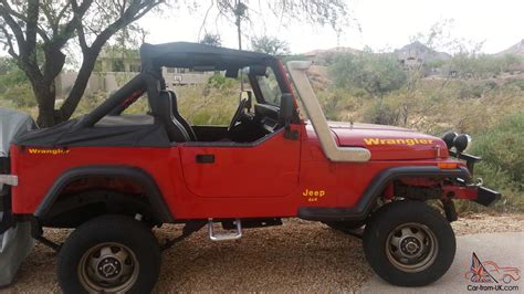 Jeep Yj Snorkel 1989 Jeep Yj Snorkel Winch Top New Axles No Reserve