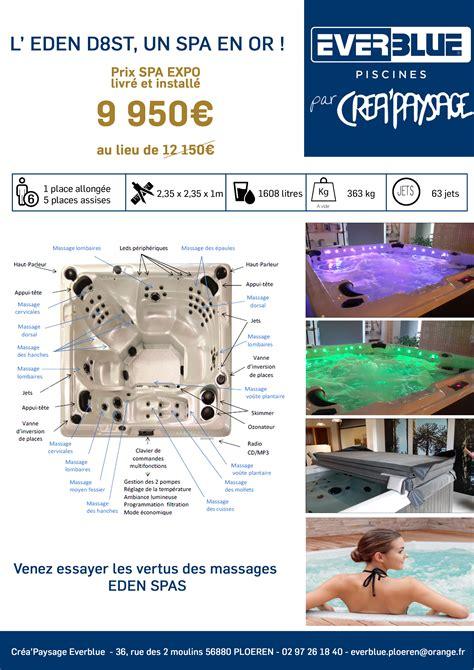 Spa De Ploemeur by Un Spa En Or 224 9 950 Cr 233 Apaysage