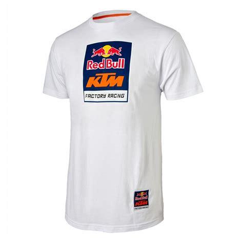 T Shirt Ktm Racing White bull ktm racing logo white babbitts