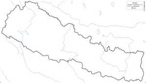 geography blog nepal outline maps