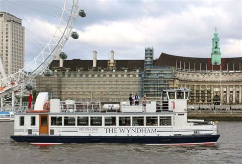 Thames River Cruise Time Schedule | the wyndham london party boat hire thames boats ltd
