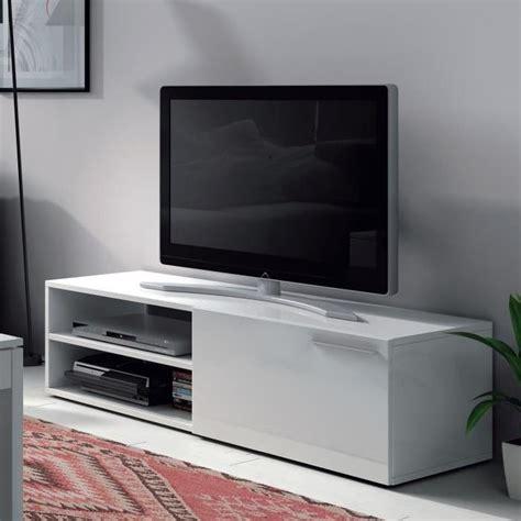 meuble tv blanc pas cher meuble tv pas cher