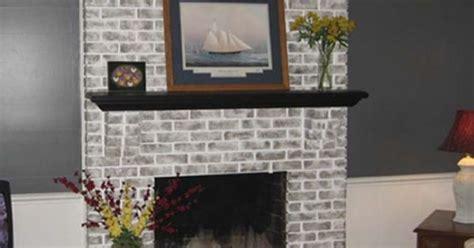 painted gray fireplaces brick fireplace brick