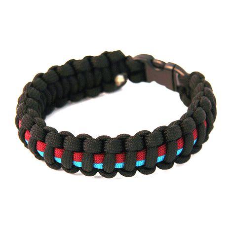 maroon paracord paracord survival bracelet black maroon blue the
