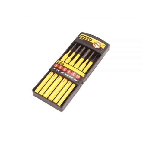 stanley pin punch kit  piece set