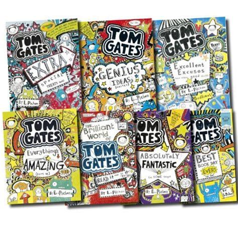 1407124404 tom gates excellent excuses and tom gates collection 7 books set the brilliant world of