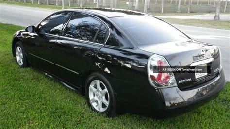 2005 nissan altima s sedan 4 door 2 5l