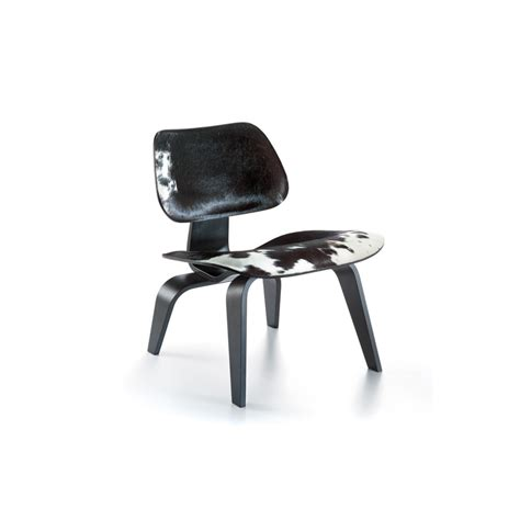 Chaise Lcw Eames by Chaise Lcw En Cuir De Vachette Reproduction Charles Eames