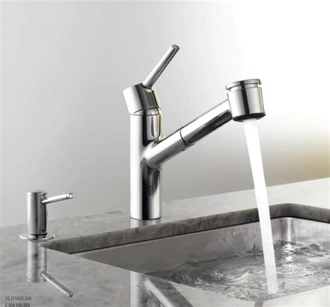 kwc luna kitchen faucet kwc 10 211 033 127 luna single handle pull out kitchen