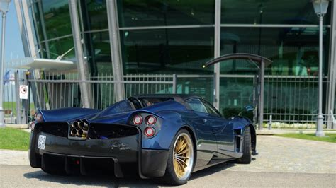 pagani factory huayra roadster spotted for the at the pagani