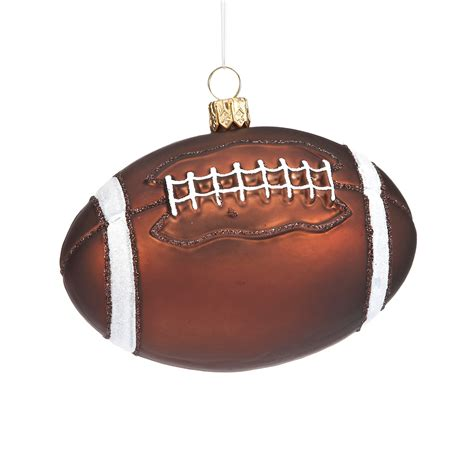 football christmas ornament gump s