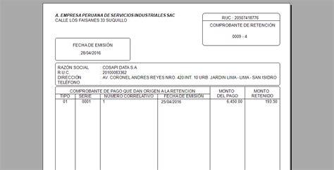 imprimir comprobante de pago de refrendo del ao 2014 imprimir comprobante retencion 2014 aplicar retenci 243 n