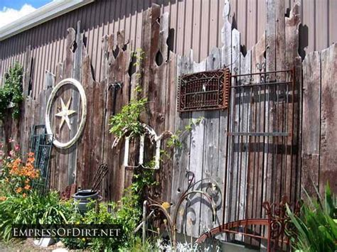 creative ideas  garden fences empress  dirt