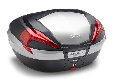 givi  maxia  topkoffer rode reflectoren aluminium