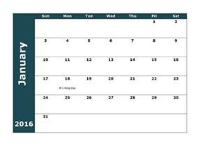2016 monthly calendar template 2016 monthly calendar template 18 free printable templates