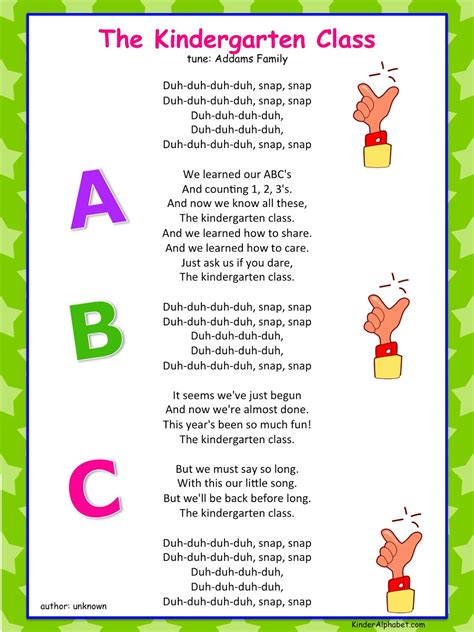 Parent Letter N1 Kinder Alphabet