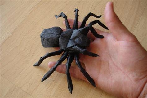 Origami Tarantula - tarantula lang by origami artist galen on deviantart