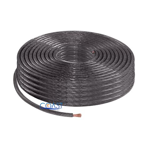 ofc copper stranded 10 awg black power ground