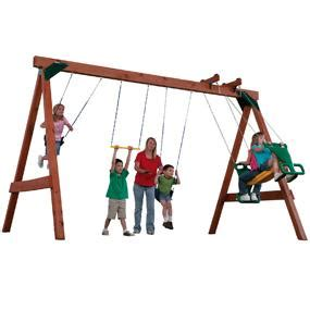 swing set bolts scout custom ready to build swing set kit best deals toys