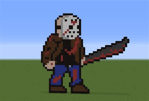 jason voorhees friday 13th grabcraft number source minecraft buildings
