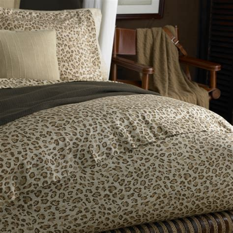 ralph lauren leopard comforter bedding chic organic eco friendly