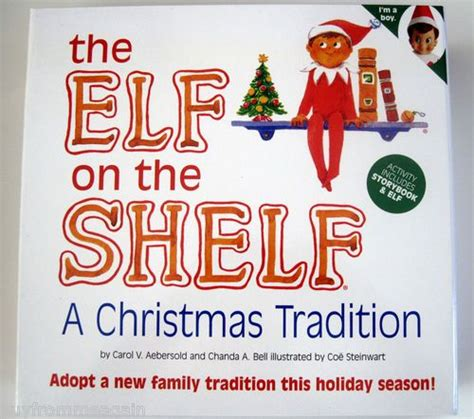 The Story Of The On The Shelf by The On The Shelf Boy Tradition Story Book