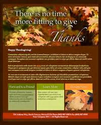 Happy Thanksgiving Email Templates by Email Templates Email Newsletter Templates Net