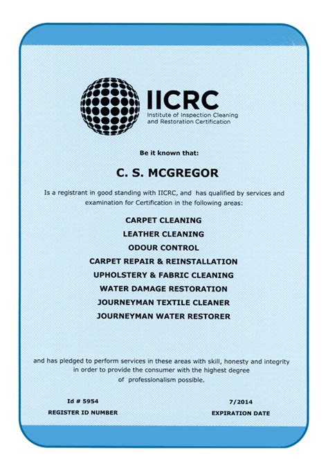 carpet cleaning certification 1st alert carpet cleaning
