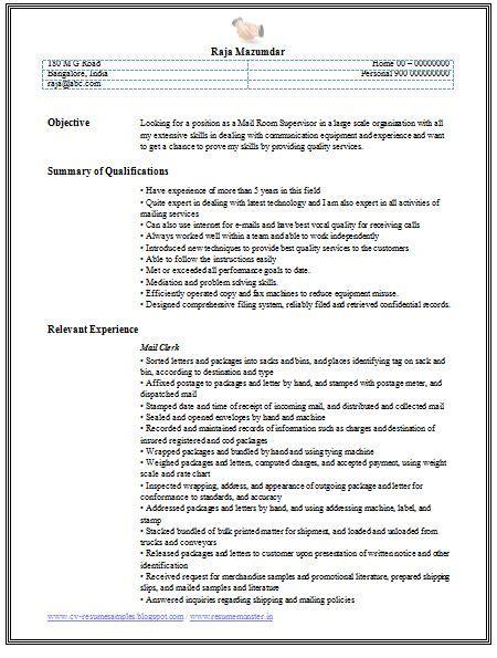 relevant experience resume exles professional curriculum vitae resume template for all
