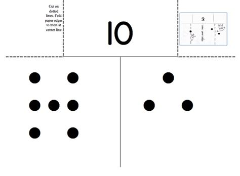Math Dot Card Templates by 45 Best Subitizing Images On