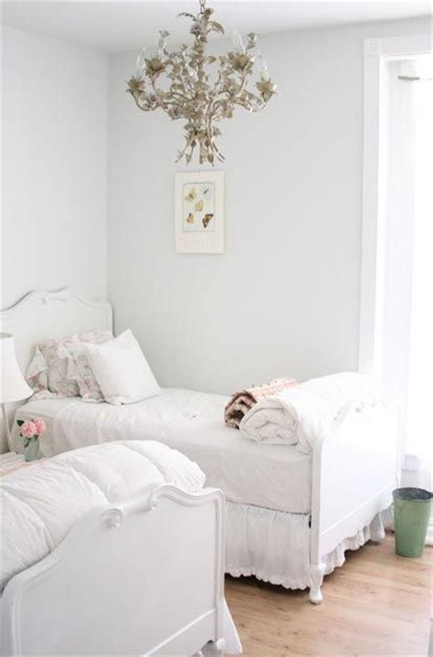 white shabby chic twin bed shabby chic pinterest
