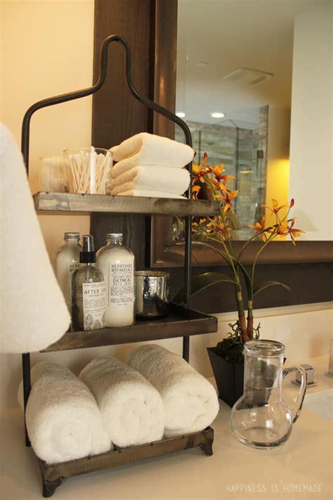 bathroom countertop storage ideas hgtv lake tahoe dream home 2014 delta touch2o faucet