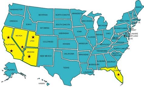 50 states map labeled 50 states of usa map show map of the united states of