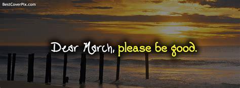 dear march facebook profile cover