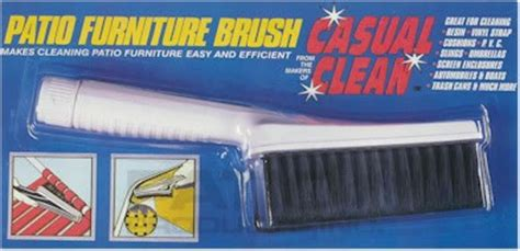patio products inc casual clean patio furniture cleaner and brush by patio