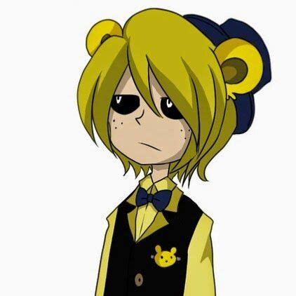 golden anime human freddy 21 best images about golden freddy on pinterest