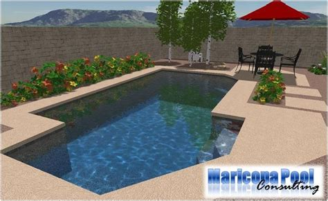 geometric pool designs for landscaping arizona backyard landscaping pictures 3d