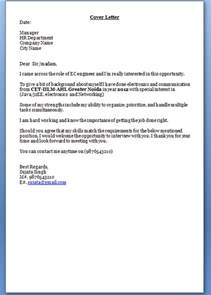 Cover Letter For Teaching For Freshers by Cover Letter For Freshers